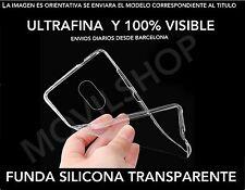 FUNDA TPU GEL SILICONA ULTRAFINA TRANSPARENTE PARA LG G5   2016