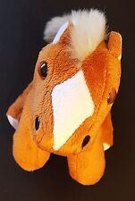 Wal-Mart*My Life As- Brown Pony Plush Stuffed Animal