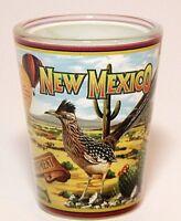 NEW MEXICO STATE MURAL SHOT GLASS SHOTGLASS