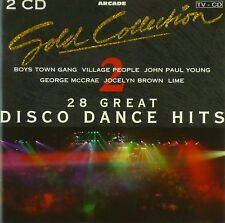2x CD-Various-Gold Collection Volume 2 - 28 Great Discoteca Dance Hits - #a3839