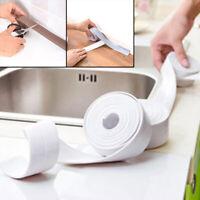 Bath Wall Sealing Strip,Waterproof Self-Adhesive Kitchen Caulk Tape Bathroom K#