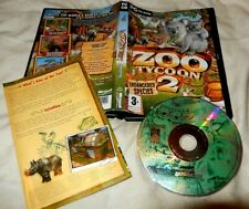 ZOO TYCOON 2  with manual VGC