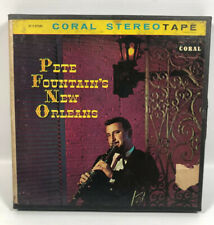 PETE FOUNTAIN New Orleans Reel To Reel Tape 7 1/2  IPS 4 Track CORAL ST-7-57282