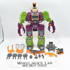 Scorponok MINT 100% Complete Hasbro 1987 G1 Transformers