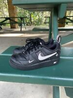 2018 Toddler's Nike Air Force 1 Low Black Utility US Size 12C