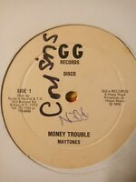 "The Maytones - Money Trouble 12"" Vinyl Single 1978"