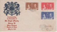 Virgin Islands - 1937 KGVI Coronation First Day Cover -Elaborate Cachet