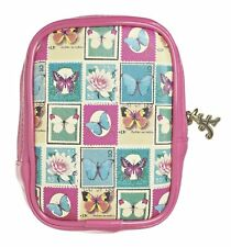 BUTTERFLY Protective padded Soft Shell Compact Digital Camera Case Universal
