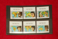 """JERSEY MINT STAMPS 19.02.1996 UNICEF 50TH ANNIV """"FIFTIETH"""" SELVEDGE"""