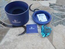 Swarovski Event Piece Eternity Blue Scs Heart 2006 #0844184, Nib never displayed