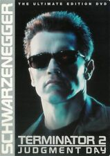 T2 -The Extreme Edition Arnold SchwarzeneggeR DVD TERMINATOR PART 2 JUDGMENT DAY