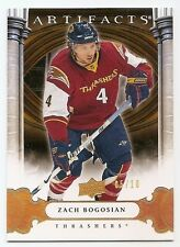09/10 UD ARTIFACTS GOLD SPECTRUM PARALLEL #73 Zach Bogosian #5/10
