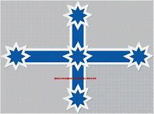EUREKA CROSS/SOUTHERN CROSS BLUE BIKER BACK PATCH 420 x 310mm