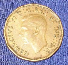 KM054 1943 Canada Nickel 5 Cent Victory Coin Tombac