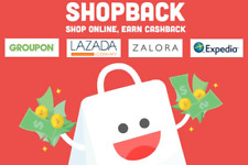 Shopback Referral Code - Get RM5 Free Cashback