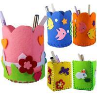 DIY Cute Creative Handmade Pen Container Pencil Holder Kid Children Craft Toy