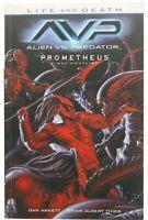 Alien vs Predator Life and Death AVP Prometheus Final Conflict TPB Dark Horse