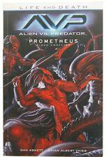 Alien vs Predator Life and Death Avp Prometheus Final Conflict by Dan Abnett Tp