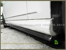 Carbon Fiber JP Style Side Skirt Add-on Lip For 08-14 M-Benz W204 C-Class Sedan