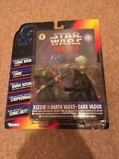 Star Wars Shadows Of The Empire Xizor Vs. Darth Vader With Comic Book 1996