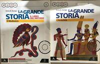 """La grande storia 1 """"L'antichità e Il Medioevo E. Stumpo 1° media Ed. Le Monnier"""