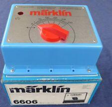 Märklin 6606 DISPOSITIF DE CONDUITE Transformateur 16 Volt 50/60 Hz neuwertig