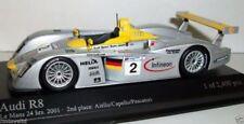 Coches de carreras de automodelismo y aeromodelismo MINICHAMPS Le Mans Audi