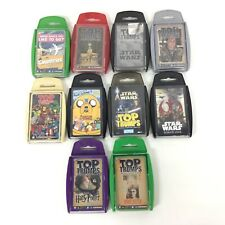 Collection of Top Trumps Cards Harry Potter Adventure Time Star Wars #412