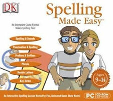 Dk Spelling Made Easy Diagnostic Testing Ages 9-14 Win 8 7 Vista Xp New