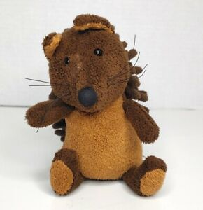 """12"""" Jellycat London Noodles Squirrel Plush Stuffed Toy Animal HTF Woodlands Doll"""