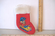 AN AMERICAN TAIL~SEARS / MCDONALDS~MINI CHRISTMAS STOCKING~FIEVEL ON SLED~