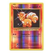 Pokemon XY Evolutions Vulpix 14/108  Common - Reverse Holo Card