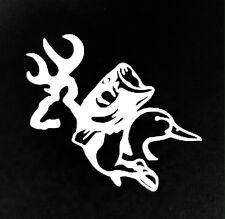 HUNTING (deer, bass,duck) vinyl decal