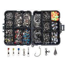 177X Fishing Mini Accessories Tools Box with Tackle Box Pliers Jig Hooks Swivels