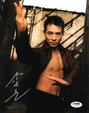 JET LI SIGNED AUTOGRAPHED 8x10 PHOTO ONCE UPON A TIME IN CHINA VERY RARE PSA/DNA