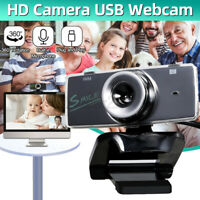 USB 2.0 HD Web Cam Camera W/ Microphone For PC Computer Laptop Desktop Universal