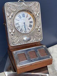SILVER 1903 WATCH HOLDER / PHOTO FRAME- DESK TOP