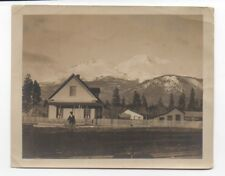 1910 Photo of Houses near Mount Shasta CA