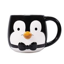 OFFICIAL MARY POPPINS DISNEY 3D SHAPED PENGUIN COFFEE MUG CUP NEW IN GIFT BOX