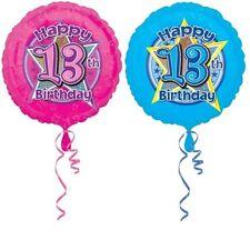 Globos de fiesta Amscan color principal azul cumpleaños infantil