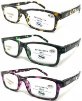1882 Superb Quality Classic Reading Glasses/Spring Hinges/Colorful Tortoiseshell