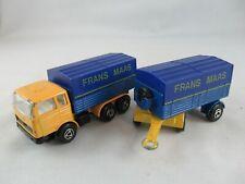 Efsi Mercedes Truck Trailer Frans Maas