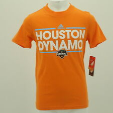 MLS Adidas Houston Dynamo Official Youth Size T-Shirt New With Tags
