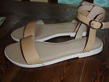 H by Halston Violet Beige Womens Shoes Size 9.5 sandals
