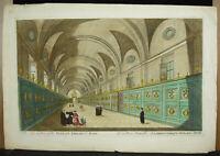 Gravuren Kunstblatt XVIII c1770 Bibliothek Apostolischen Vatikan Zu ROM