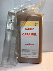 Dunkin Donuts Caramel Swirl With Pump