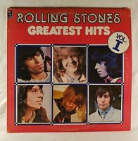 """The Rolling Stones - Greatest Hits Vol I 1977 Abkco 12"""" 33 RPM LP (EX+) **Import"""