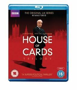 House of Cards Trilogy [Blu-ray] [Region Free] [DVD][Region 2]