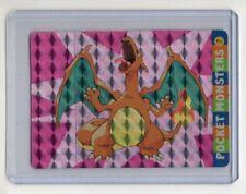 Charizard Pocket Monster / Pokemon Cardass Vending Machine Holo Foil Sticker