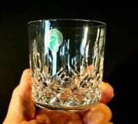 Beautiful Waterford Crystal Lismore Old Fashioned Whiskey Glass